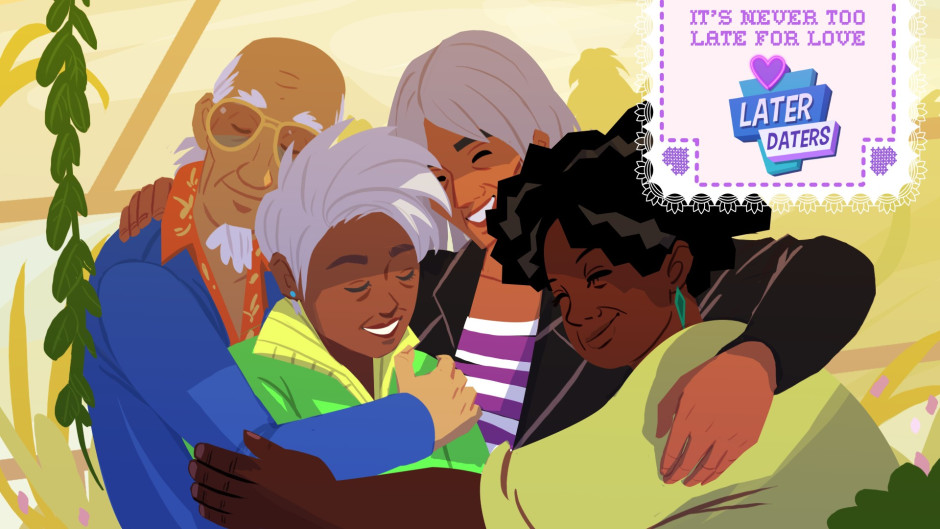 Geriatric Dating Sim Later Daters is Now Available for
